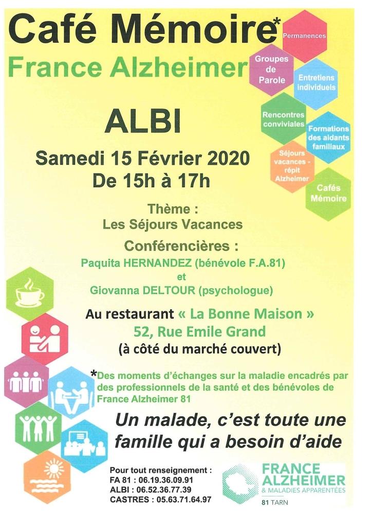 Café mémoire 2.2020