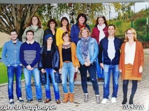 Photo équipe enseignante