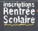 Pré inscriptions rentrée scolaire 2017-2018