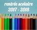 Inscriptions rentrée scolaire 2017-2018
